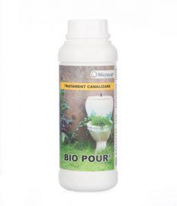 Bioactivator pentru sistemele de canalizare.
